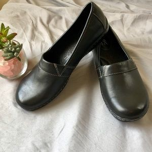 Born Concepts Flat Loafers 11 Black Leather NWOB